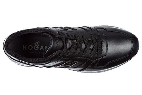 Scarpe Scarpe Sneakers H321 Hogan Da 3d Pm Uomo Cuoio Di Nero Z61Zncwg