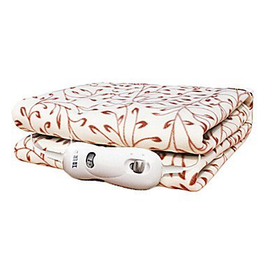 Habe Blanket Country Style Cirrus Pattern Single bed Dacron Electric Blanket 220V 50HZ 70W - Random Color, 1.5×0.8M 1.5×0.8M