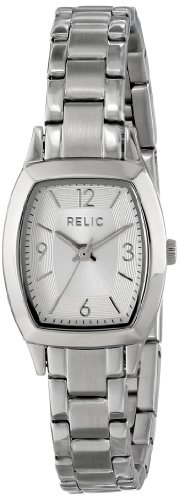 (Relic by Fossil Women's Everly Quartz Stainless Steel Dress Watch, Color: Silver-Tone (Model: ZR34270))
