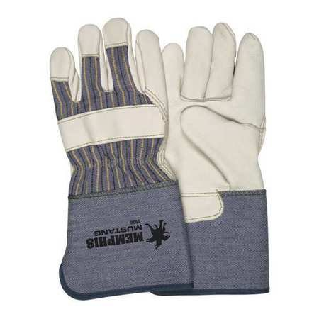 Aviditi, Deluxe Leather Palm Gloves, L, GLV1060L, 12 Pairs