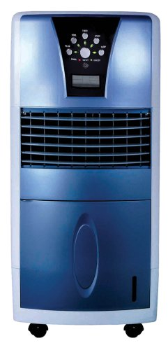 Sunpentown SPT SF-613 LED Evaporative Air Cooler with Ionizer
