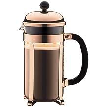 Bodum Chambord 34-Ounce Coffee Maker, Copper
