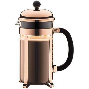 Bodum CHAMBORD Coffee Maker, French Press Coffee Maker, Copper, 34 Ounce