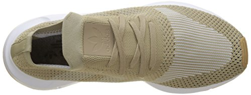 adidas Swift Run Primeknit, Sneaker Uomo Oro (Raw Gold/Off White/Footwear White)