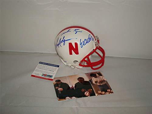 Rodgers Rozier & Crouch Autographed Signed Memorabilia Nebraska Cornhuskers Mini Helmet - Heisman Winn - Certified Authentic