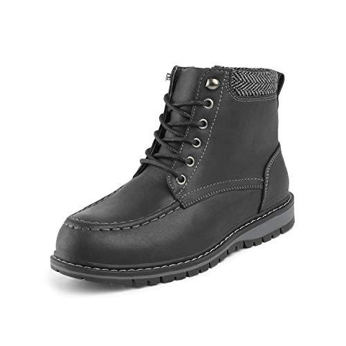 Bruno Marc Little Kid Apache-01 Black Faux Fur Winter Snow Ankle Boots Size 12 M US Little Kid -