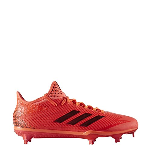 Adidas Originali Mens Adizero Postbruciatore 4 Scarpe Da Baseball Rosso Solare, Rosso Solare, Bianco Ftwr