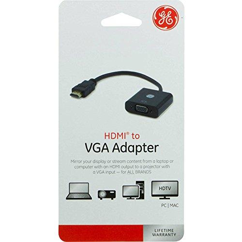 GE 33588 HDMI to VGA Adapter -