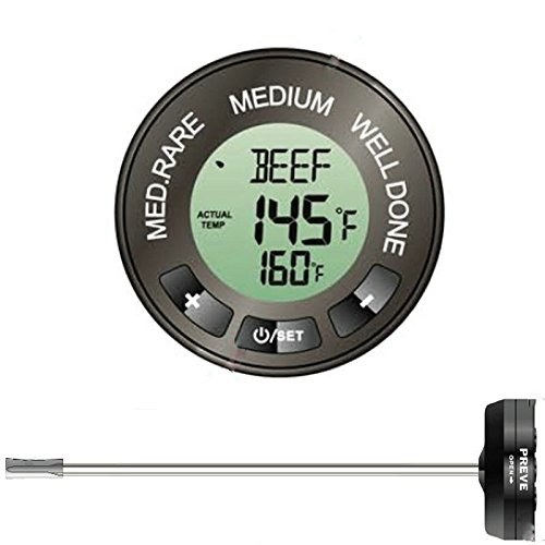 Instant Thermometer Programmed Doneness Selectable