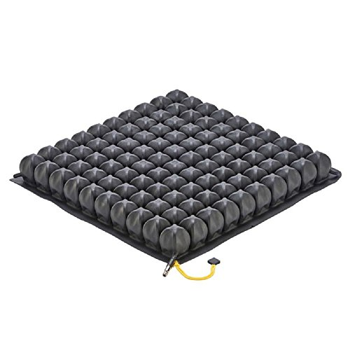 ROHO Low Profile SINGLE VALVE Seating and Positioning Wheelchair Seat Cushion 1R109LPC (18-19 X 16-17) ()