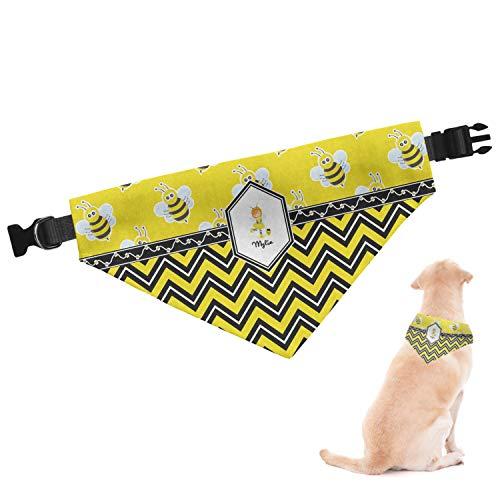RNK Shops Buzzing Bee Dog Bandana - Large (Personalized)]()