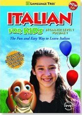 Italian for Kids: Learn Italian Beginner Level 1 Vol. 1