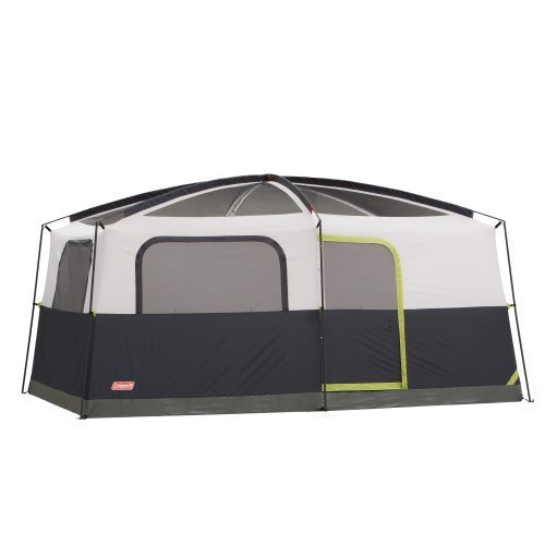 COLEMAN Prairie Breeze 9 Person WeatherTec Camping Tent w/Fan & Light | 14 x 10' ()