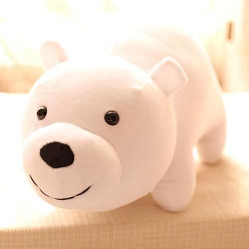 Amazon.com: 3pcs/setNEW TV Show We Bare Bears Plush Doll Toys Panda Grizzly Xmas Gifts Cute Plushie: Toys & Games