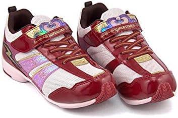 バネのチカラ 女の子 キッズ 子供靴 運動靴 通学靴 ランニングシューズ スニーカー パワーバネ ゴム紐 ストラップ クッション性 3E 幅広 カジュアル デイリー スポーツ スクール 学校 SS J3076