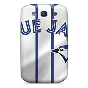 High Quality Mobile Cases For Samsung Galaxy S3 With Allow Personal Design Colorful Toronto Blue Jays Series LauraAdamicska