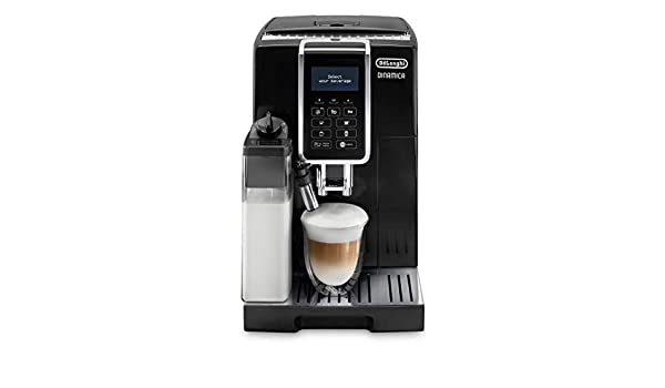 Amazon.com: Delonghi super-automatic espresso coffee machine with an adjustable grinder, double boiler, milk frother maker for brewing espresso, cappuccino, ...