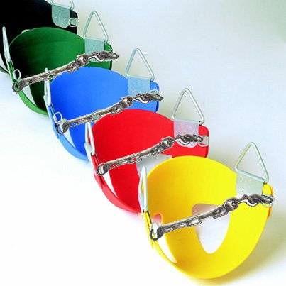 Playkids Baby Toddler Half Bucket Seat Free Chain Link