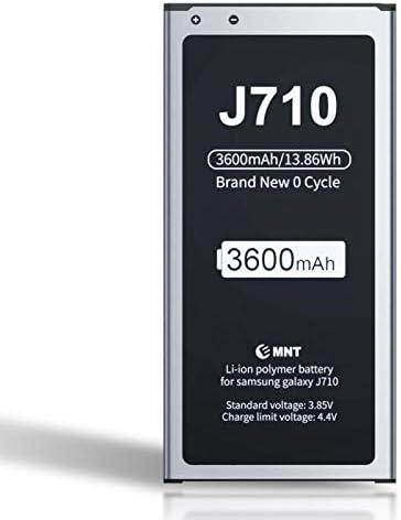 ZMNT - Batería para Samsung Galaxy J7 (3600 mAh, ión de Litio ...