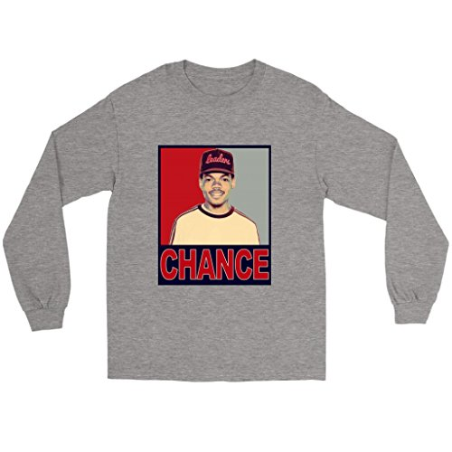 Chance The Rapper Chicago Hip Hop Long Sleeve (Chance Fitted T-shirt)