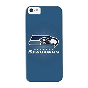 High Quality Inthebeauty Seahawks Small Minimal Logo Skin Case Cover Specially Designed For Iphone - 5c