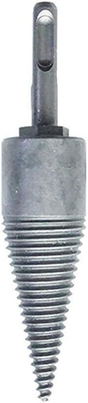 Delidraw Brennholz-Maschinenbohrer-Holzreibahle-Bohrer-aufgeteilte Holzarbeit-Kegel-Bohrwerkzeug