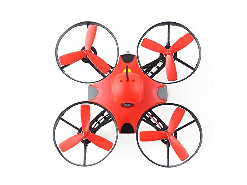 Makerfire-U90-90mm-Micro-FPV-Racing-Drone-BNF-Frsky-Receiver-Red