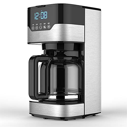 JCSW Cafetera Express, Cafeteras Superautomaticas para Espresso, Cafetera Goteo, Cafetera para Espresso y Cappuccino, 1…