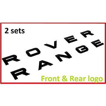 amazon com jdm world new set range rover glossy black land rover rh amazon com  range rover login