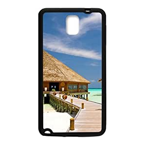 Beach Lodge Black Phone For Case Iphone 6Plus 5.5inch Cover