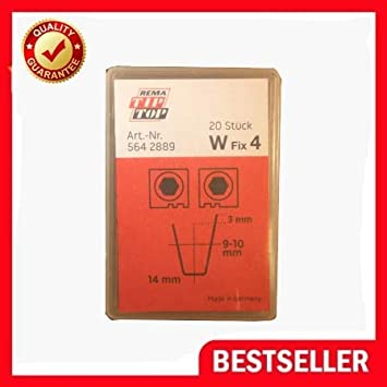 made in Germany 20 PCs W-5 Blades Tire Regroover 10-14mm