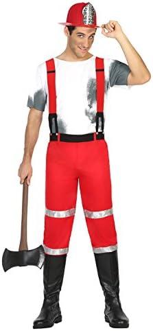 Atosa- Disfraz hombre bombero, M-L (17038): Amazon.es: Juguetes y ...