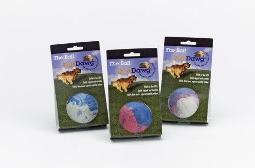 Ruff Dawg Small Ball Dog Toy, Assorted Marble Colors, My Pet Supplies