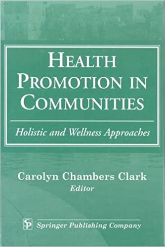 Health Promotion in Communities: Holistic and Wellness Approaches