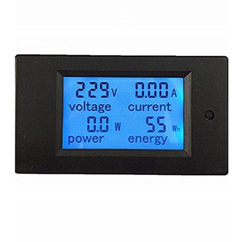 elegantstunning 100A Digital Multifunction Power Meter Energy Monitor Module Volt Meter Ammeter: Office Products