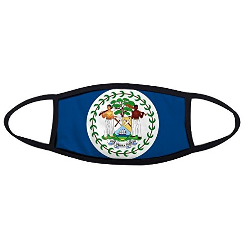 Belize National Flag North America Country Symbol Mark Pattern Face Anti-dust Mask Anti Cold Maske