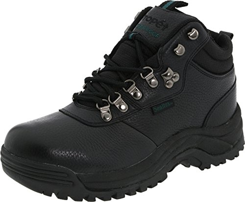 Propet Men's Cliff Walker Hiking Boot, Black 12 Wide