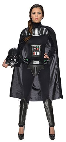 Cheap Star Wars Costumes (UHC Women's Star Wars Outfit Darth Vader Fancy Dress Adult Halloween Costume, L (12-14))