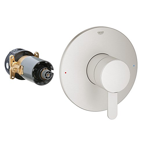 Grohflex Cosmopolitan Single Function Pressure Balance Trim With Control ()