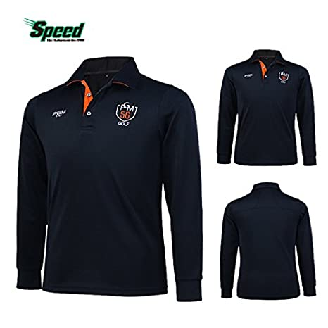 ed3d0b9c Generic Dark blue, M : New Arrival PGM Brand Mens Outdoor Fit Polomens Golf  Polo