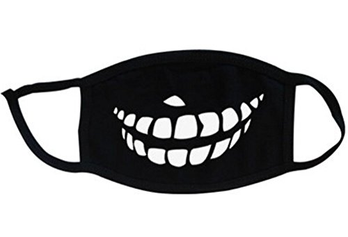 Super-Hunter-Outdoor-Protective-Cartoon-Teeth-Cotton-Face-Mouth-Mask-Suitable-for-Adults-6-Black