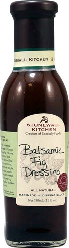 Stonewall Kitchen Dressing & Dipping Sauce Balsamic Fig -- 11 fl oz - 2 pc -