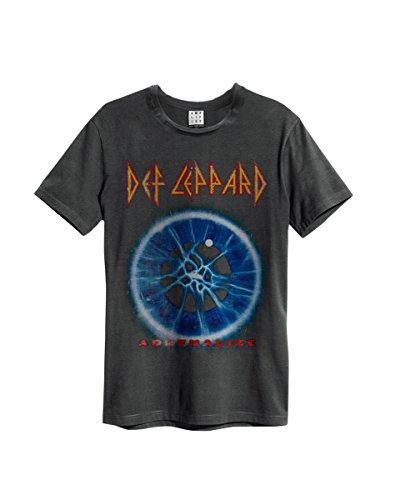 Col Amplified nbsp;– Cou Ras Du nbsp;– T Adrenalize Leppard Amplifié De Officielle shirt Def Homme nbsp;pour nbsp;– P1qrPwE