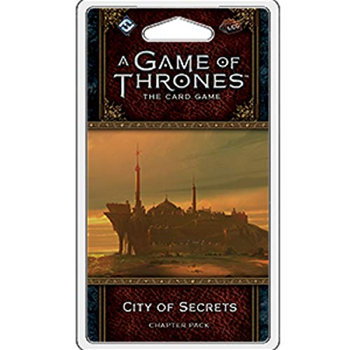 A Game of Thrones LCG: 2nd Edition - City of Secrets Chapter Pack (The City Card Game)