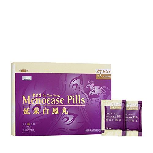 Eu Yan Sang Menoease Pills For Menopause and Post-Menopause 100% Natural, 24X5G Sachets