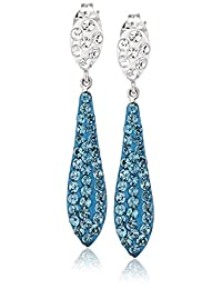 Sterling Silver Earrings with Swarovski Elements
