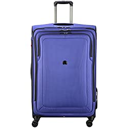 """Delsey Luggage Cruise Lite Softside 29"""" Exp. Spinner Suiter Trolley, Blue"""