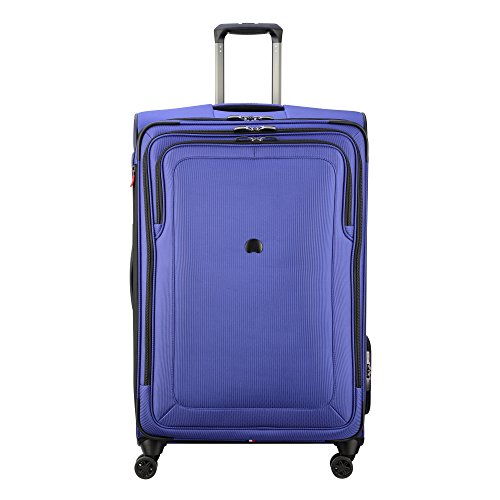 DELSEY Paris Cruise Lite Softside 29' Exp. Spinner Suiter Trolley, BLUE