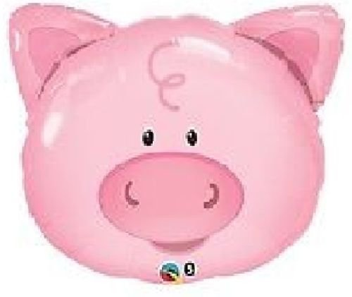 LoonBalloon PIG Farm BARNYARD Barn Head Face Shape 29