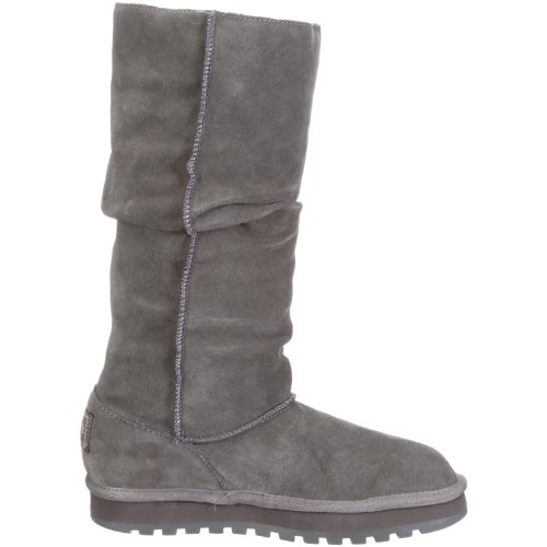 Skechers Keepsakes Brrrr - Botas planas, color: Gris Charcoal